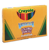 Crayola 3.3 Mm Watercolor Wood Pencil Classpack