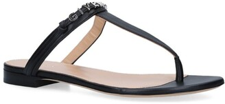 Givenchy Leather Elba Sandals