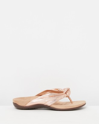 Vionic Women's Pink All thongs - Pippa Toe Post Sandals - Size One Size, 7 at The Iconic