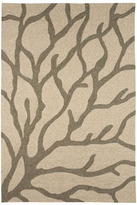 "Horchow ""Coral Branch"" Rug"