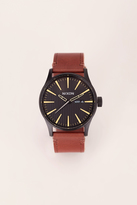 Nixon - Watches & jewellery - a105-2664-00 sentry leather - Black