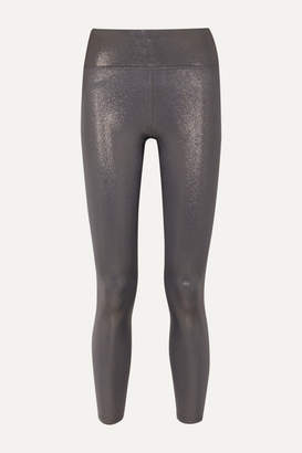 Heroine Sport - Marvel Metallic Stretch Leggings - Silver