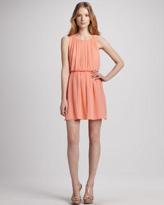 Alice + Olivia Mary Blouson Tank Dress