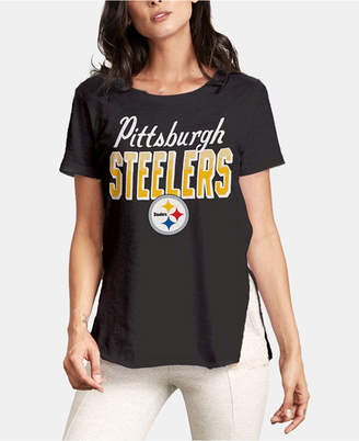 Authentic Nfl Apparel Women Pittsburgh Steelers Short Sleeve T-Shirt