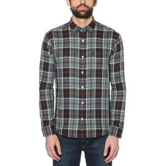 Original Penguin Reversible Plaid Flannel Shirt