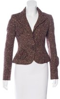 Valentino Tweed Structured Blazer
