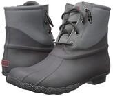 Sperry Saltwater Rubber Dip (Grey) Women's Rain Boots