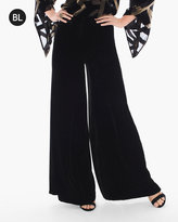 Chico's Velvet Wide-Leg Pants