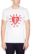 French Connection Men's F'In Heart Short Sleeve T-Shirt