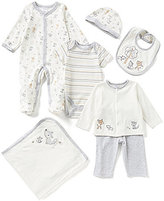 Starting Out Baby Boys Newborn-6 Months Woodland Motif 6-Piece Layette Set