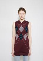Vetements Argyle Sweater Vest