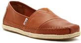 Toms Classic Leather Espadrille Slip-On Sneaker
