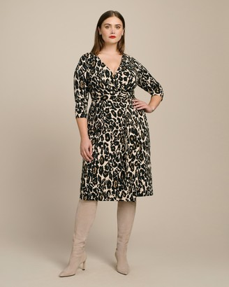 Diane von Furstenberg New Julian Two Classic Wrap Dress