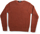 Ralph Lauren Ribbed Wool Crewneck Pullover