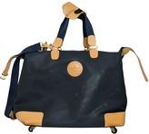 Lancel Navy Cloth Travel bags