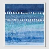 west elm Sarah Campbell - Blue Strokes