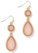 New York & Co. Goldtone Double-Drop Earring