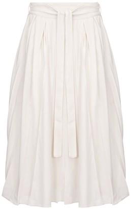 Aarabhi London Gabriella Box Pleat Skirt