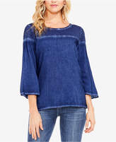 Vince Camuto TWO By Wide-Sleeve Blouse