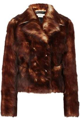 Chloé Leather-trimmed Shearling Jacket