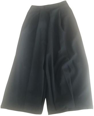 Alexander Wang Black Wool Trousers