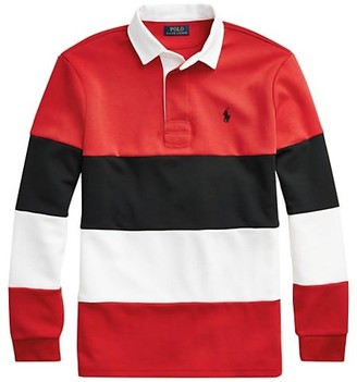 Polo Ralph Lauren Double-Knit Tech Rugby Shirt