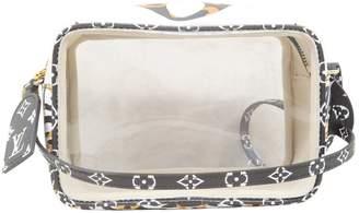 Louis Vuitton Beach White Cloth Handbags