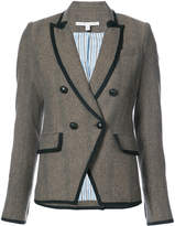 Veronica Beard tweed fitted blazer