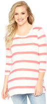 Motherhood Striped Relaxed Fit Maternity Top
