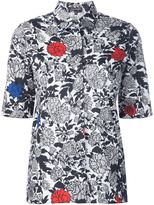 Sophie Theallet garden print shirt