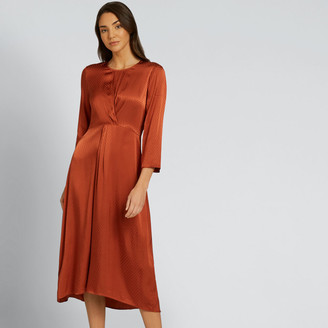 Seed Heritage Twist Detail Midi Dress