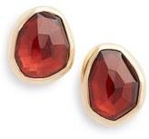 Melissa Joy Manning Women's Garnet Stud Earrings