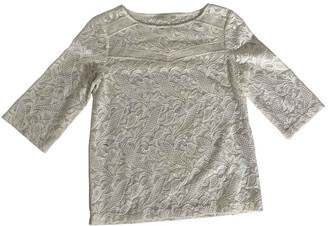 Maje White Lace Tops