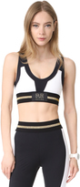 P.E NATION Grid Iron Sports Crop Top