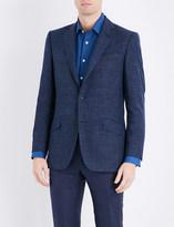 Richard James Crosshatch wool and silk-blend jacket