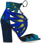Sergio Rossi chunky heel sandals
