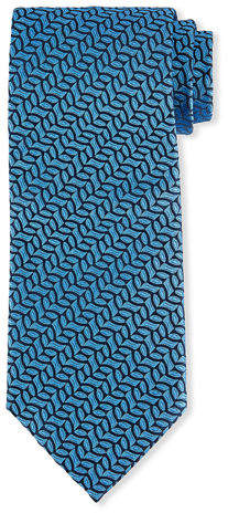 Charvet Vine-Striped Silk Tie