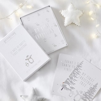The White Company 12 Days of Christmas Special Moments Cards, White, One Size
