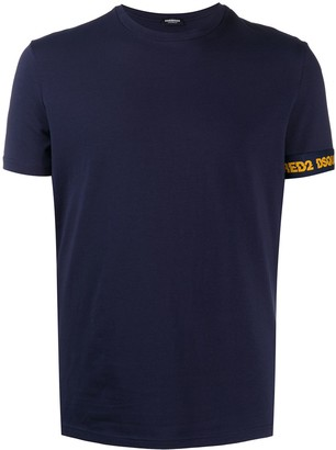 DSQUARED2 single cuff logo T-shirt