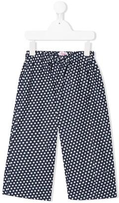 Il Gufo Polka Dot Capri Pants