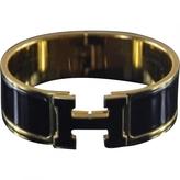 Hermes Black Bracelet Clic