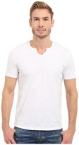 Mod-o-doc Topanga Short Sleeve Notch V-Neck Tee