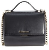 Givenchy 'Mini Pandora Box - Palma' Leather Shoulder Bag - Black