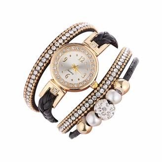 LABIUO Beautiful Fashion Bracelet Watch Ladies Watch Round bracelet watch