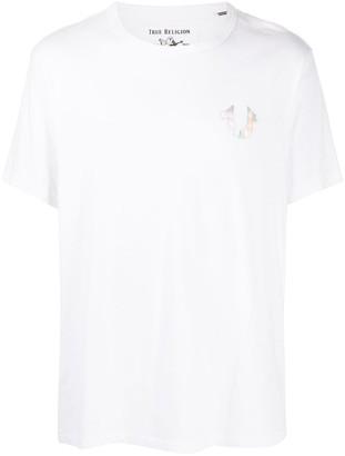True Religion holographic world tour T-shirt