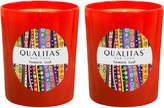 Qualitas Candles Tomato Leaf Beeswax Candles (Set of 2) (6.5 OZ)