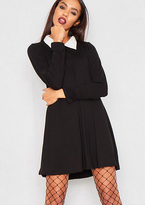 Missy Empire Wednesday Collared Swing Dress