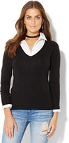 New York & Co. Waverly V-Neck Sweater