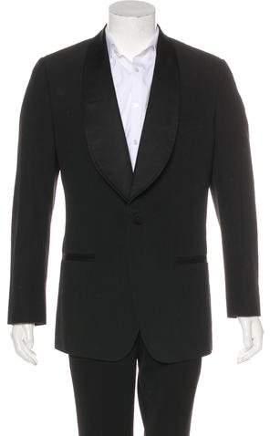 Dolce & Gabbana Striped Tuxedo Blazer