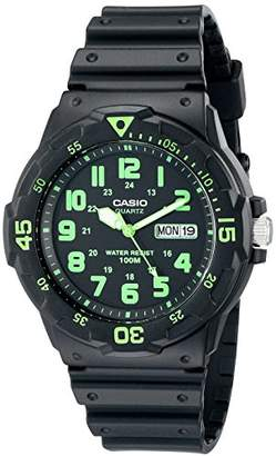 Casio Men's MRW200H-3BV Dive Style Neo-Display Sport Watch